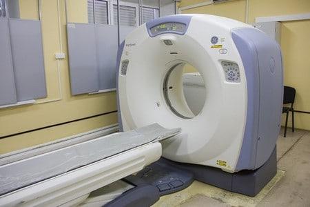 Аппарат диагностики в больнице