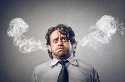 Человек в стрессе