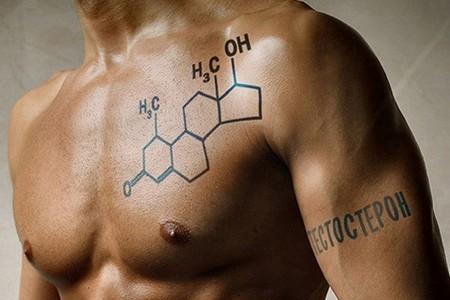 Формула тестостерона на мужчине