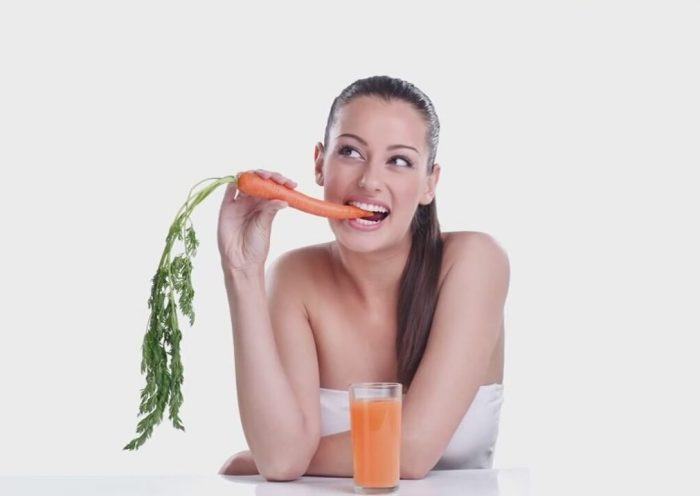 действие морковного сока на организм