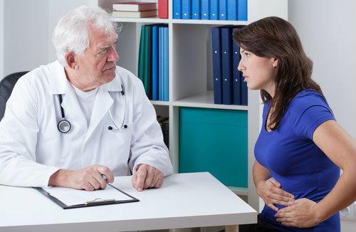 док и пациентка