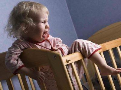ребенок просыпается ночью с истерикой