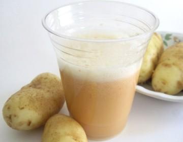 Лечение гастрита картофельным соком