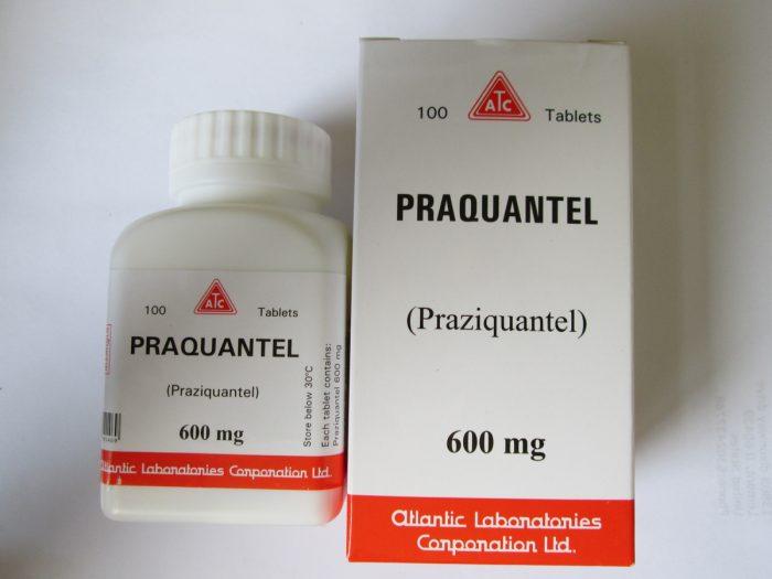 препарат способствует параличу паразитов