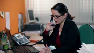 Звонок по работе