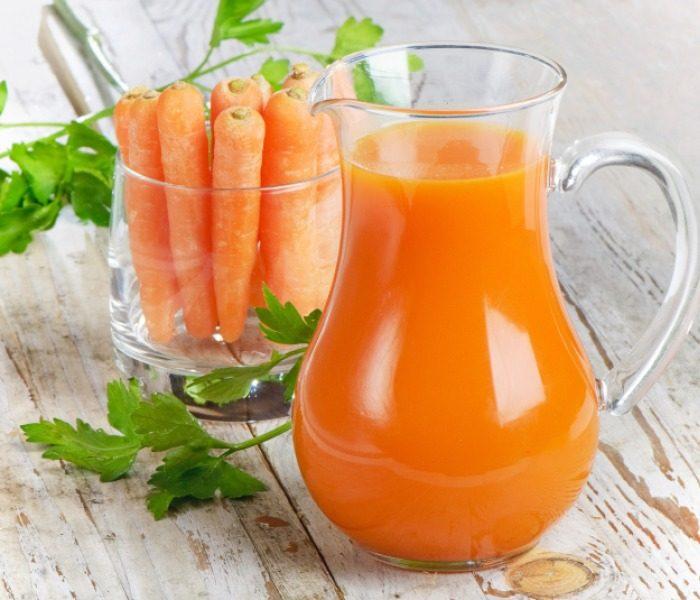 полезно пить морковный сок
