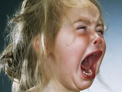 истерика перед сном у ребенка