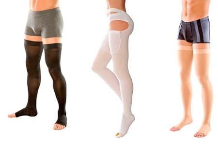 Компрессионное белье на ногах