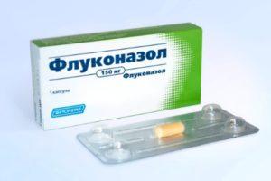 препарат Флуконазол при грибке ногтей
