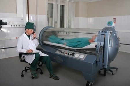 Проведение процедуры оксигенации