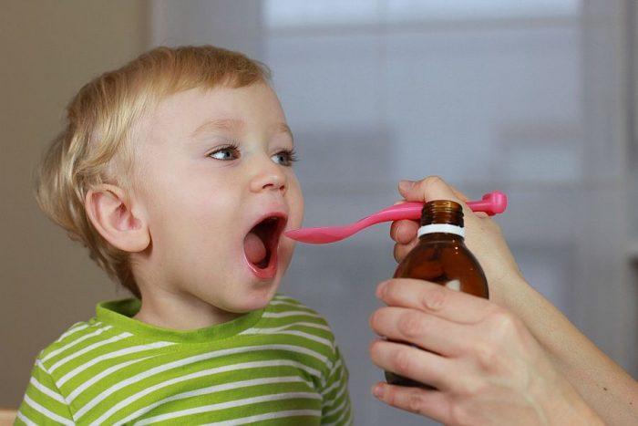маленькому ребенку рекомендуется суспензия