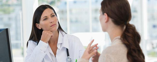 диалог с врачем