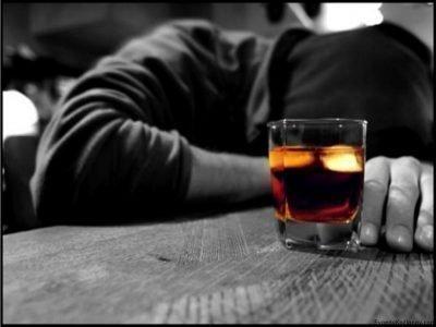 пить в одиночестве