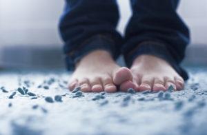 ноги всегда холодные