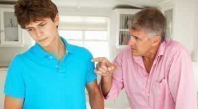 Конфликты с семьей